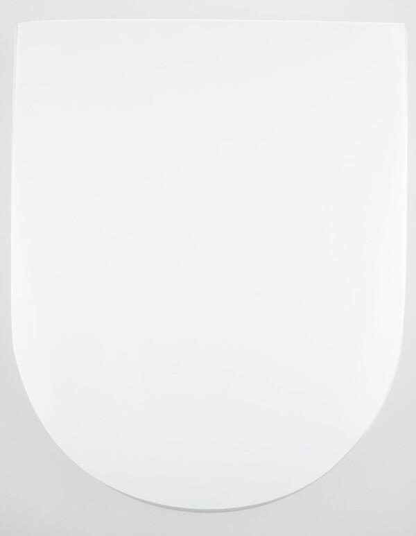 badkomfort Hochglanz-WC-Sitz, Schild