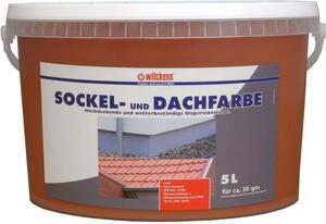 Wilckens Sockel- und Dachfarbe, Ziegelrot