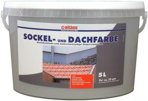 Wilckens Sockel- und Dachfarbe, Steingrau