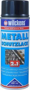 Wilckens Metall-Schutzlack Spray 2in1 Schwarz