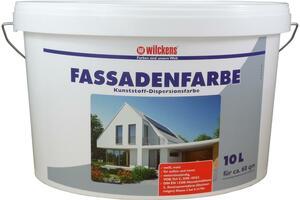 Wilckens Fassadenfarbe weiß 10l