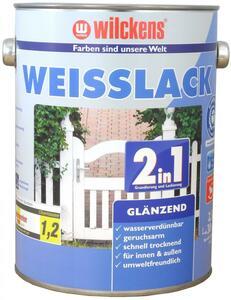 Wilckens 2in1 Weisslack glänzend