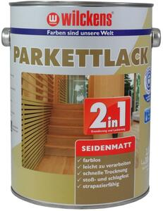 Wilckens 2in1 Parkettlack seidenmatt