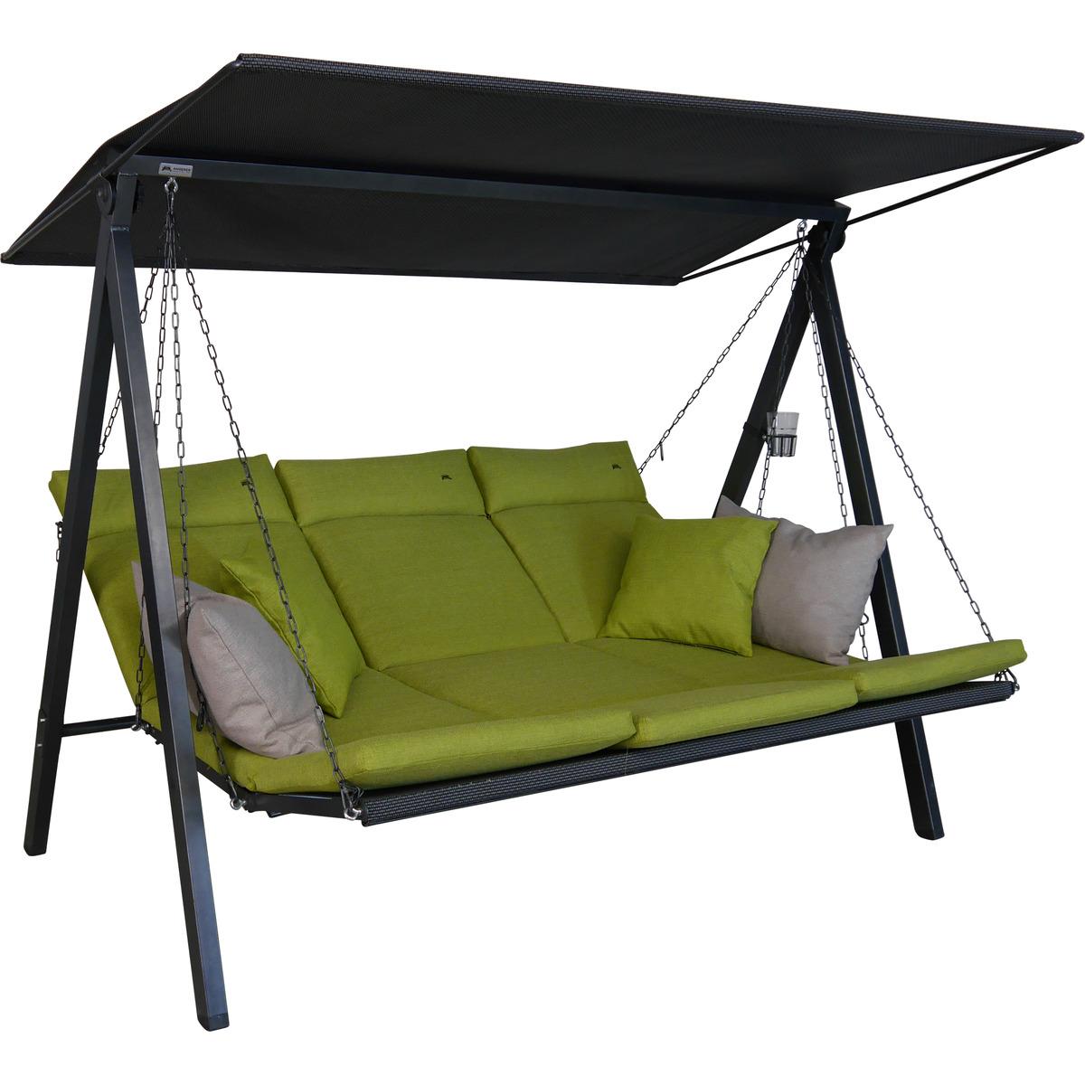 Bild 1 von Angerer Freizeitmöbel Hollywoodschaukel 'Lounge Smart' 3-Sitzer lime