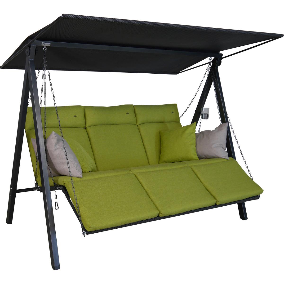Bild 2 von Angerer Freizeitmöbel Hollywoodschaukel 'Lounge Smart' 3-Sitzer lime
