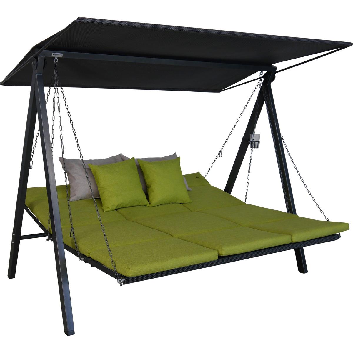 Bild 3 von Angerer Freizeitmöbel Hollywoodschaukel 'Lounge Smart' 3-Sitzer lime