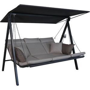 Angerer Freizeitmöbel Hollywoodschaukel 'Lounge Smart' 3-Sitzer sand