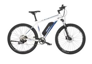 Fischer E-Mountainbike MONTIS 2.0, 27,5 Zoll, perlweiß matt