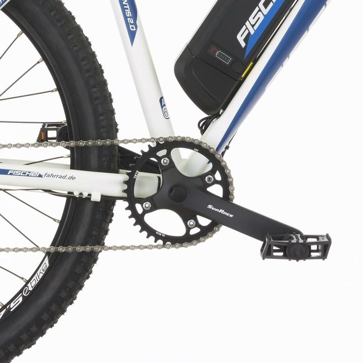 Bild 4 von Fischer E-Mountainbike MONTIS 2.0, 27,5 Zoll, perlweiß matt
