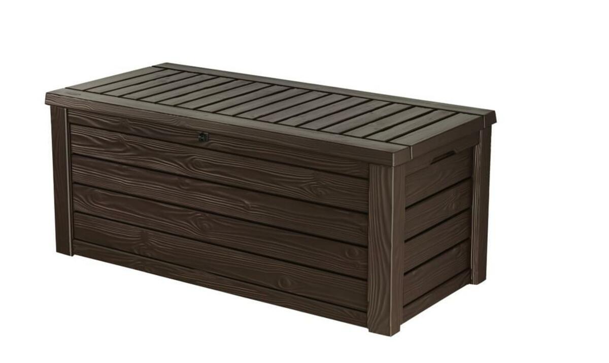 Bild 2 von Keter Universalbox Westwood Box 570 Liter, ca. B 155 x T 72,4 x H 64,4 cm, Farbe: Braun; 6054