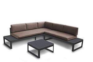 Kettler Lounge-Set Murcia 3-teilig, anthrazit/taupe