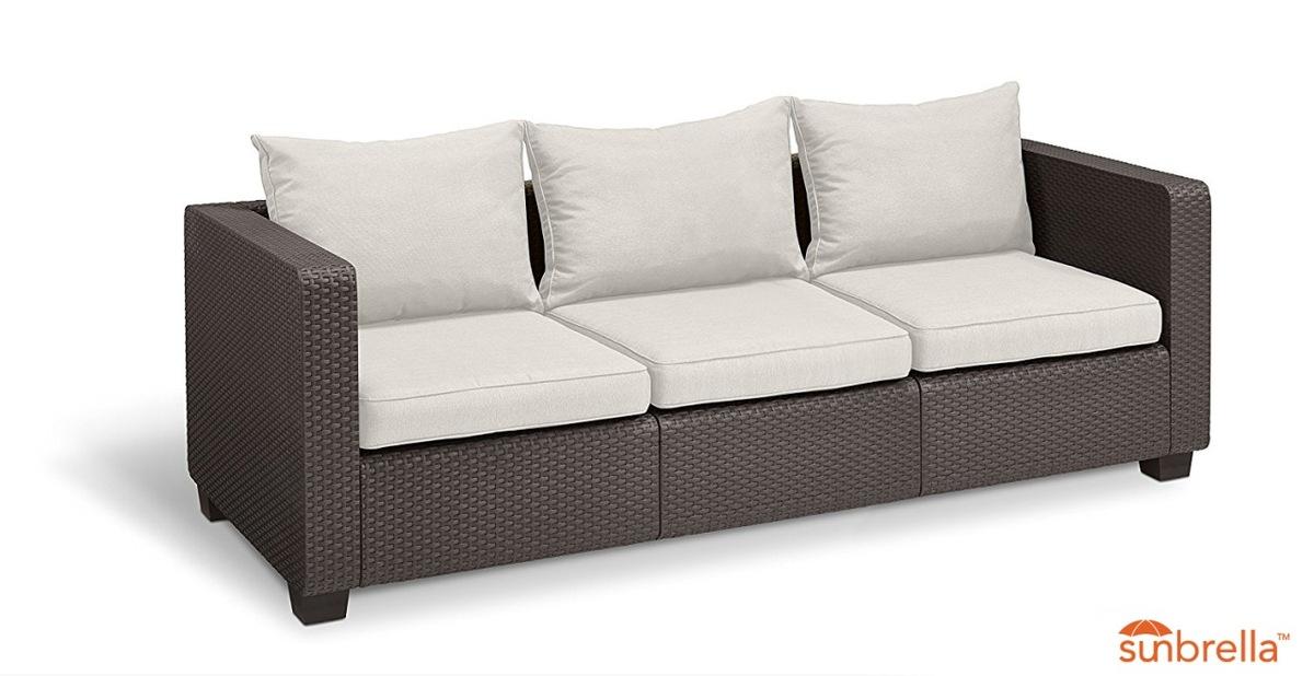Bild 1 von Salta Lounge 3-Sitzer-Sofa Braun