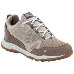 Jack Wolfskin Wasserdichte Frauen Wanderschuhe Activate Extended Version Texapore Low Women 40 grau