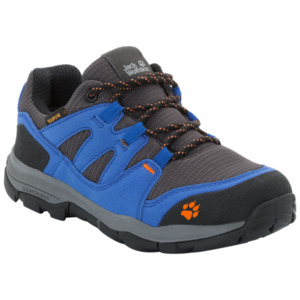 Jack Wolfskin Wasserdichte Kinder Wanderschuhe Mountain Attack 3 Texapore Low Kids 33 blau