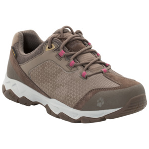 Jack Wolfskin Wasserdichte Frauen Wanderschuhe Rock Hunter Texapore Low Women 35,5 grau