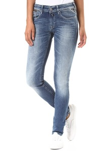 Replay Luz Coin Zip - Jeans für Damen - Blau
