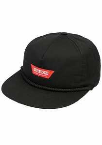Volcom Stone Brew Snapback Cap - Schwarz
