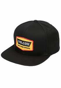 Volcom Cresticle Snapback Cap - Schwarz