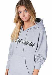 Chiemsee Sweatshirt - Kapuzenpullover für Damen - Grau