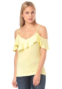 Vila Vibits Cold Shoulder - Top für Damen - Gelb