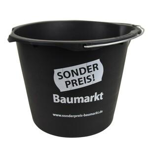 Sonderpreis Baumarkt Wassereimer 12 L in schwarz