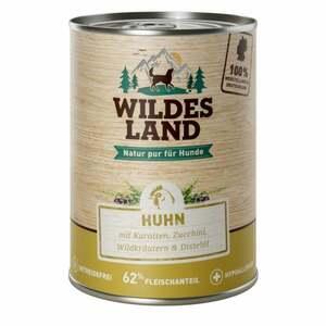 Wildes Land Nr. 2 Huhn mit Karotten, Zucchini, Wildkräut 8.48 EUR/1 kg