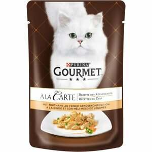 Gourmet A la Carte mit Truthahn an feiner Gemüsekomposi 0.58 EUR/100 g (24 x 85.00g)