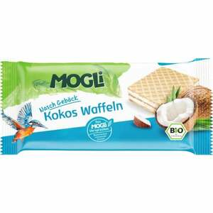 MOGLi Bio Nasch Gebäck Kokos Waffeln 3.93 EUR/100 g