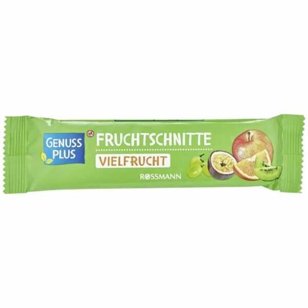 GENUSS PLUS Fruchtschnitte Vielfrucht 1.23 EUR/100 g (25 x 40.00g)