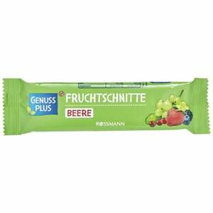GENUSS PLUS Fruchtschnitte Beere 1.23 EUR/100 g (25 x 40.00g)