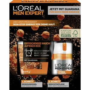 L'Oréal Paris men expert Hydra Energy Reinigungsgel + Gesichtspflege S EUR/