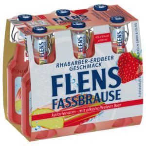 Flens Fassbrause Rhabarber Erdbeere 6x0,33l