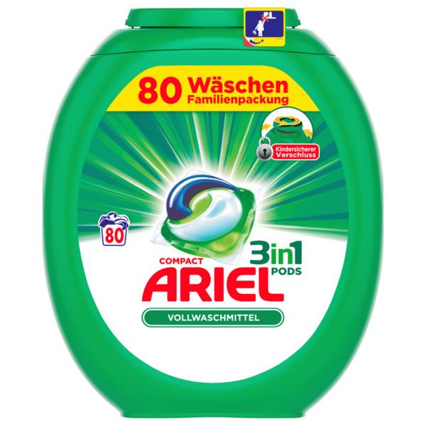 Ariel Vollwaschmittel 3in1 Pods 80WL 2160g