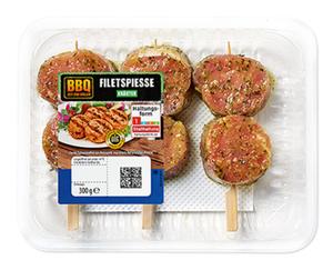 BBQ Schweine-Filetspieß*