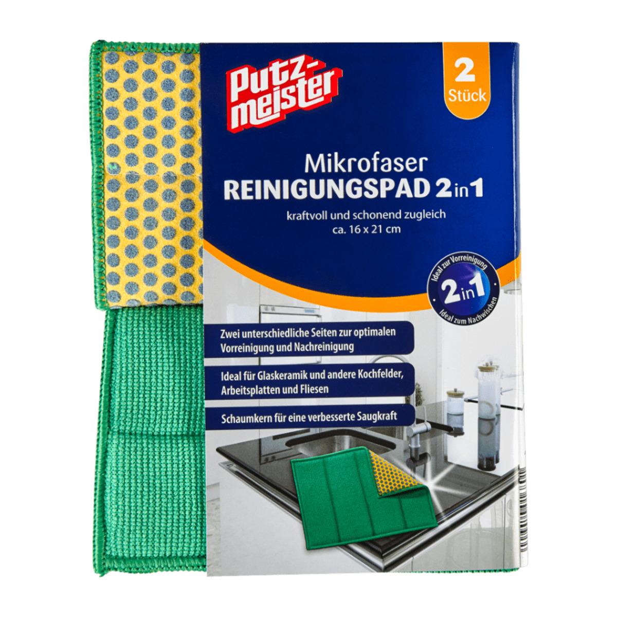 Bild 2 von PUTZMEISTER     Reinigungspads 2in1 / Fugenschwämme 3in1
