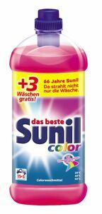 Sunil color flüssig Waschmittel, 18 Waschladungen