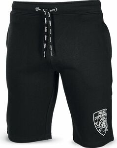 NYPD Herren Sweat Shorts - schwarz, Gr. XXL