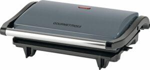 GOURMETmaxx Kontakt- & Tischgrill 700W grau