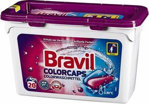 Bravil Colorwaschmittel Duo-Caps 20 Waschladungen