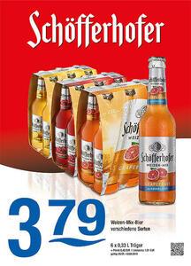 Schöfferhofer Weizen-Mix-Bier verschiedene Sorten