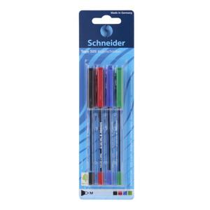 Schneider Kugelschreiber 4 Stück