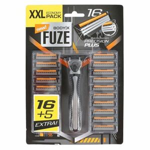 Body X Fuze Herrenrasierer XXL Pack mit 21 Klingen