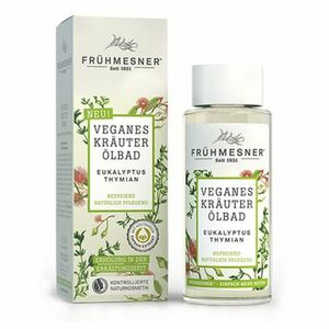 Frühmesner Veganes Kräuter-Ölbad Eukalyptus/Thymian 100ml