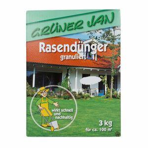 Grüner Jan Rasendünger granuliert 3kg