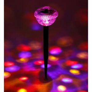 Solar-Partylicht mit 4 bunten LEDs