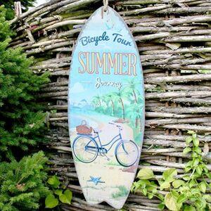 Wandbild Surfbrett Summer