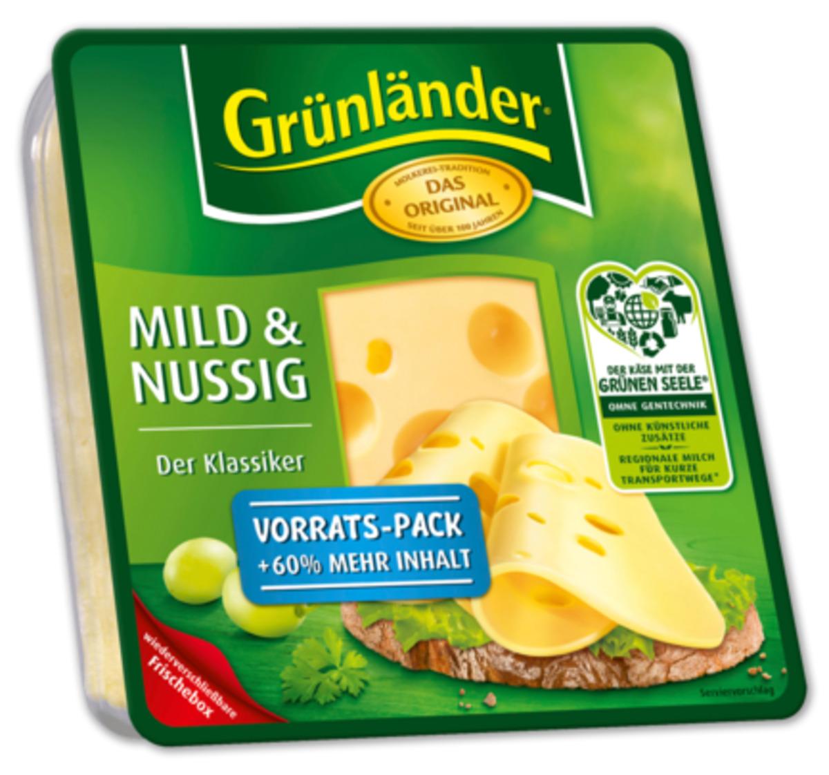 Bild 1 von GRÜNLÄNDER Käsescheiben