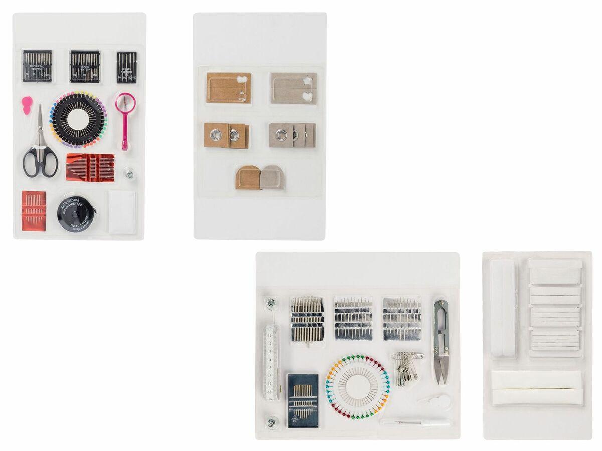 Bild 1 von CRELANDO® Nähmaschinenzubehör / Bänder / Handnäh-Set / Textilveredelungsset