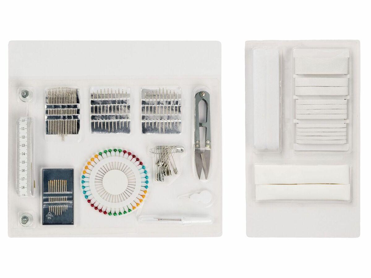 Bild 5 von CRELANDO® Nähmaschinenzubehör / Bänder / Handnäh-Set / Textilveredelungsset