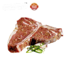 Deutsche frische T-Bone-Steaks